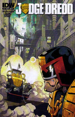 "Judge Dredd (2012 series) #01-4 [SET] — Volume 01: We've Got You Now! (All Variant ""B"" Covers)"