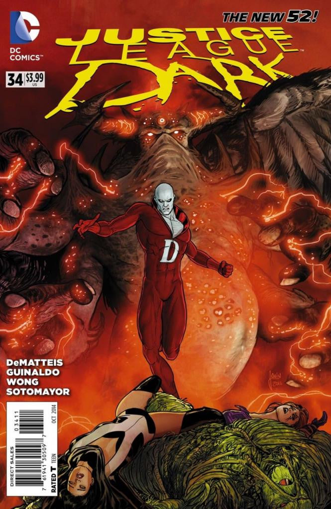 Justice League Dark (2011 Series) #34