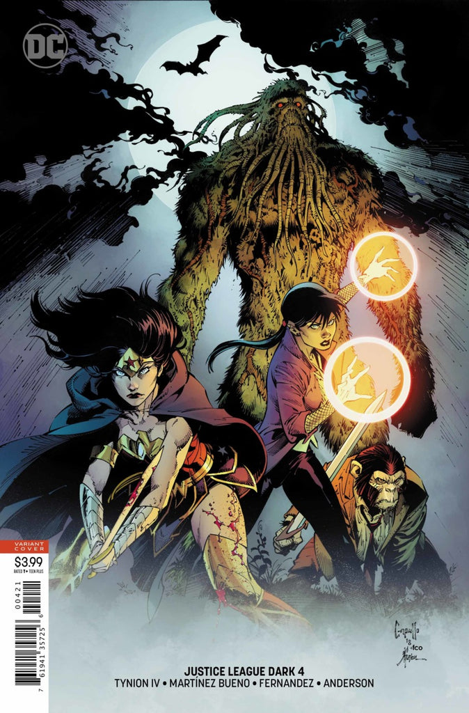 Justice League Dark (2018 Series) #4 (Variant Cover - Greg Capullo)