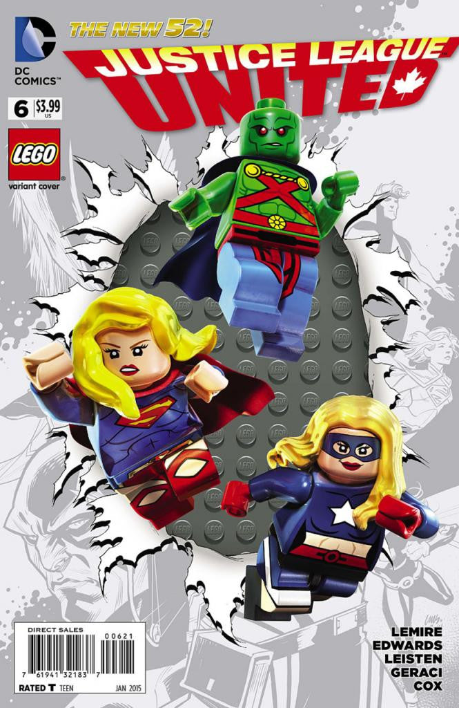 Justice League United (2014 Series) #6 (Variant Cover - LEGO)