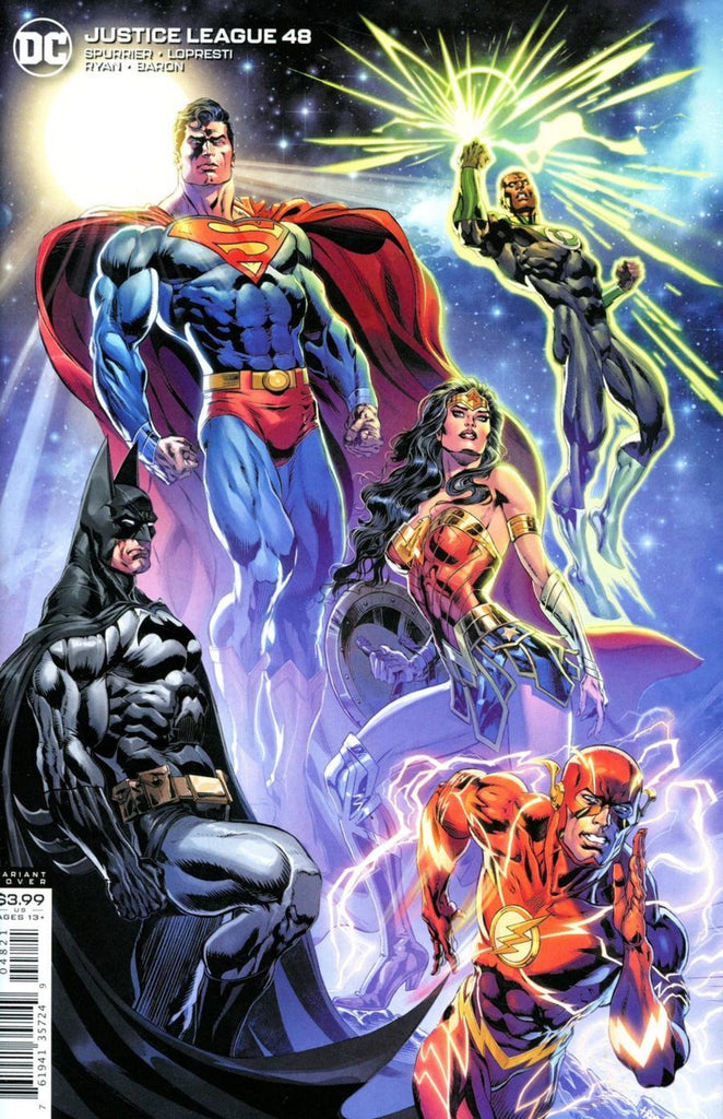 Justice League (2018 series) #48-50 [SET] — Volume 07 (A): The Rule of War (All Variant Covers)