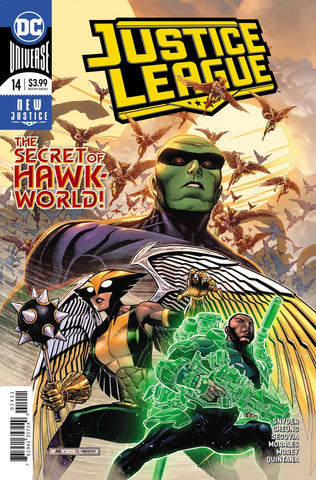Justice League (2018 series) #14-17 + Annual #1 [SET] — Volume 03 (A): Escape from Hawkworld (All Regular Covers)