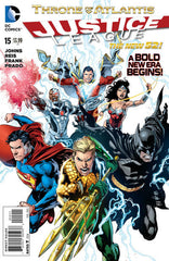 Justice League (2011 series) #15 (A Multi-Title Crossover) [SET] — Volume 03: The Throne of Atlantis