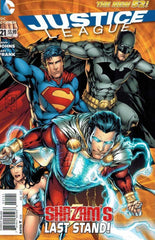 Justice League (2011 series) #18-21 [SET] — Volume 04 (A): The Grid (All Variant Covers)