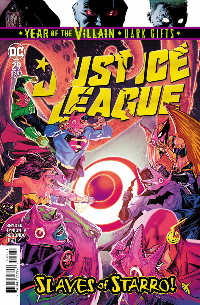 Justice League (2018 series) #29 (Regular Cover - Francis Manapul)