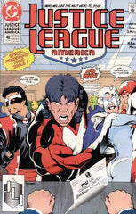Justice League International (1987 series) #41-45 [SET] — Volume 07 (B): The Dark Side Bar