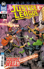 Justice League (2018 series) #14-17 + Annual #1 [SET] — Volume 03 (A): Escape from Hawkworld (All Variant Covers)
