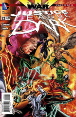 Justice League (2011 series) #22 (A Multi-Title Crossover) [SET] — Volume 04 (B): The Trinity War (Variant Incentive Covers)