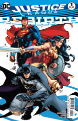 Justice League; Rebirth (2016 one-shot)