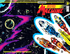 Justice Machine (1987 series) #01-6 [SET] — Volume 01: Heroes and Villains