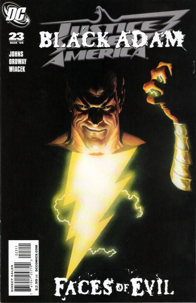 Justice Society of America (2007 series) #23-26 [SET] — Volume 04: Black Adam and Isis (B)