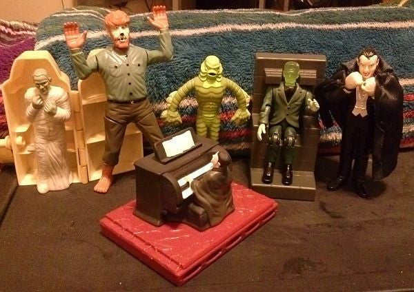 Jack in the Box: Universal Monsters – Complete Set of 6 Figures