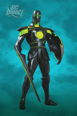 "Justice League Alex Ross ""Justice"" Series 6 – Green Lantern (Armored Version) 6"" Figure"