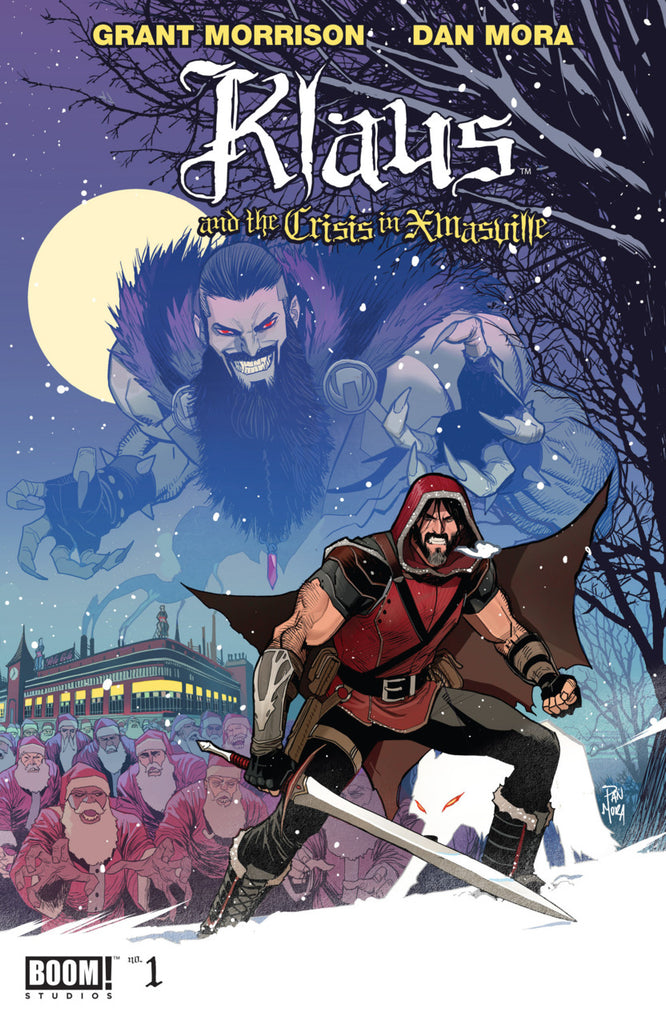 Klaus and the Crisis in Xmasville (2017 One-Shot) #1 (Regular Cover - Dan Mora)