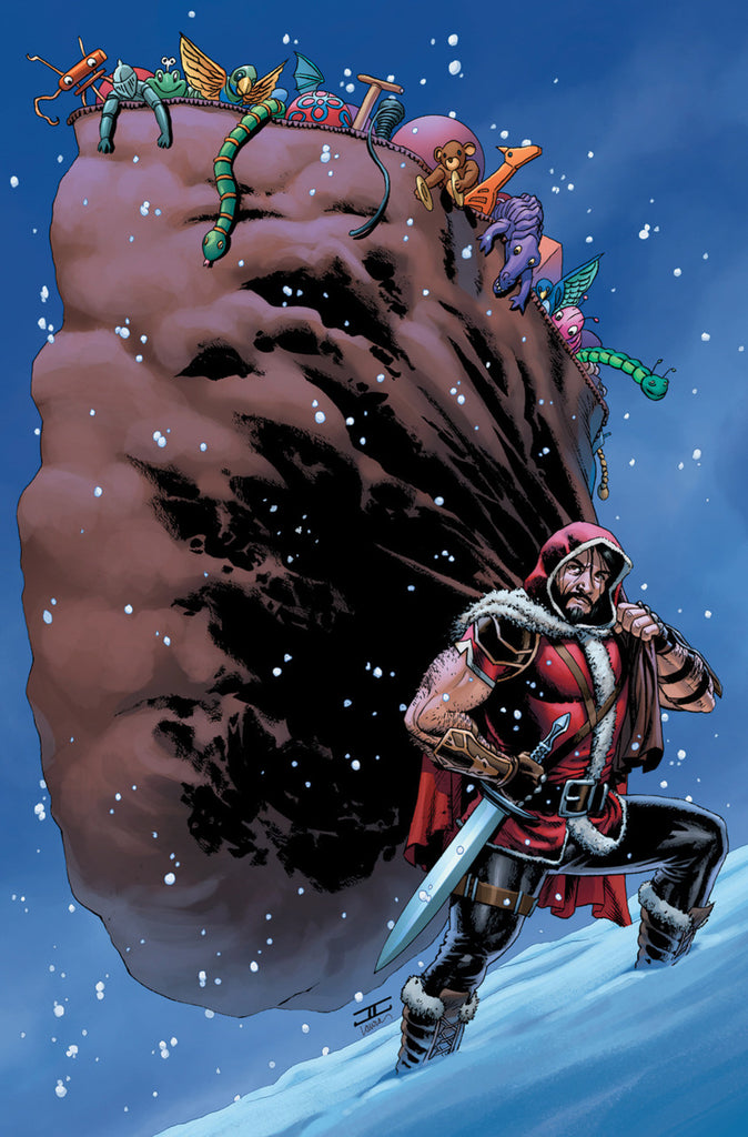 Klaus and the Crisis in Xmasville (2017 One-Shot) #1 (Variant Incentive Cover - John Cassaday)