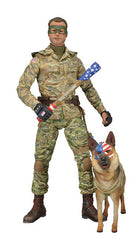 "Kick-Ass 2 (Film) Series 2 – Colonel Stars and Stripes 6"" Figure & Eisenhower the Dog Figure"