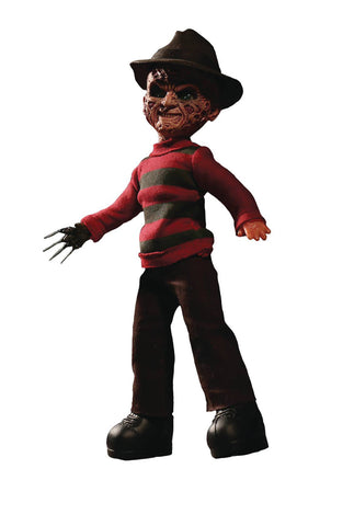 "Living Dead Dolls – A Nightmare on Elm Street (Film) – Freddy Krueger 10"" Figure with Sound"