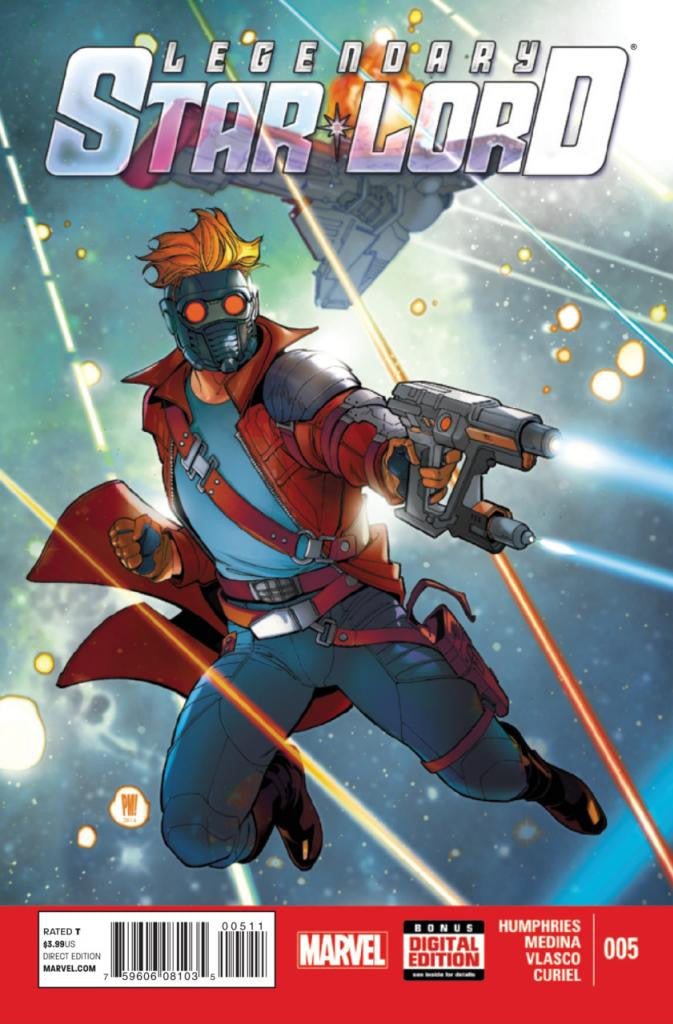 Legendary Star-Lord (2014 Series) #5