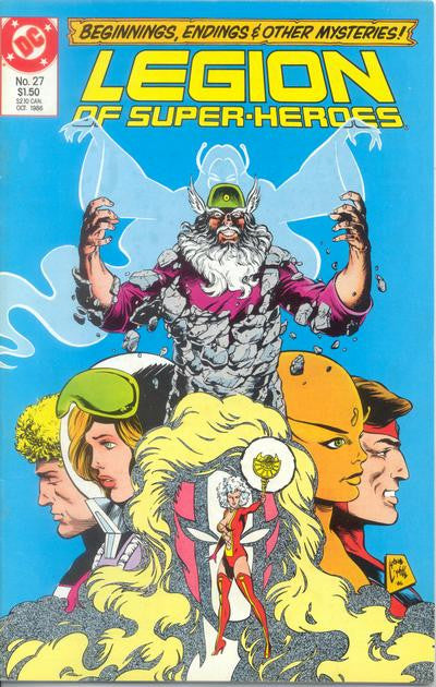 Legion of Super-Heroes (1984 series) #27-31 [SET] — Volume 07: Mordru & Starfinger
