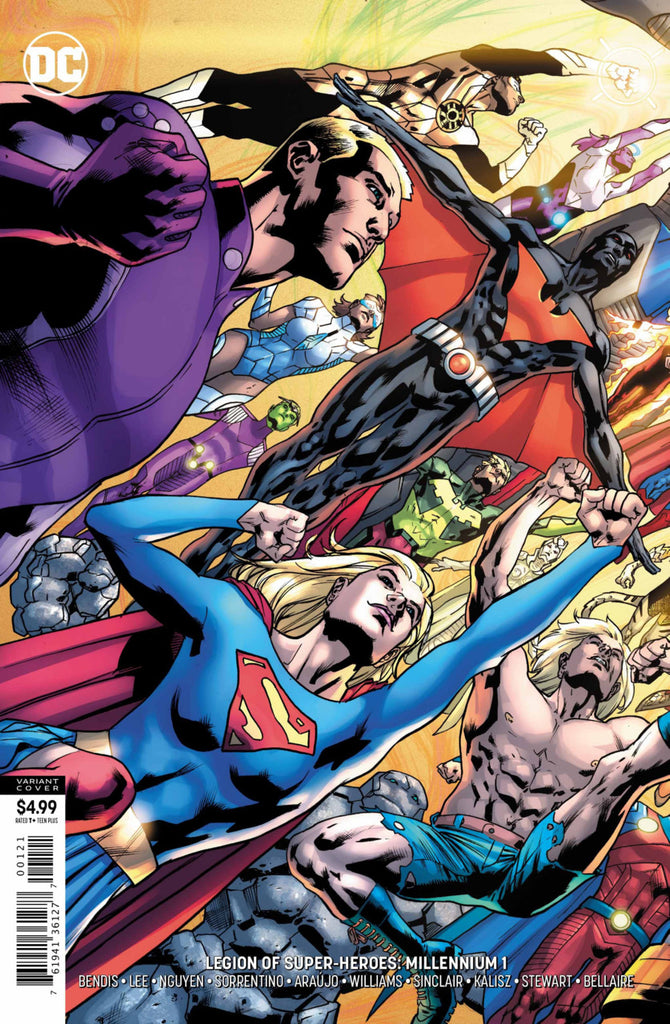 Legion of Super-Heroes; Millennium (2019 mini-series) #2 (of 2) (Variant Cover - Bryan Hitch)