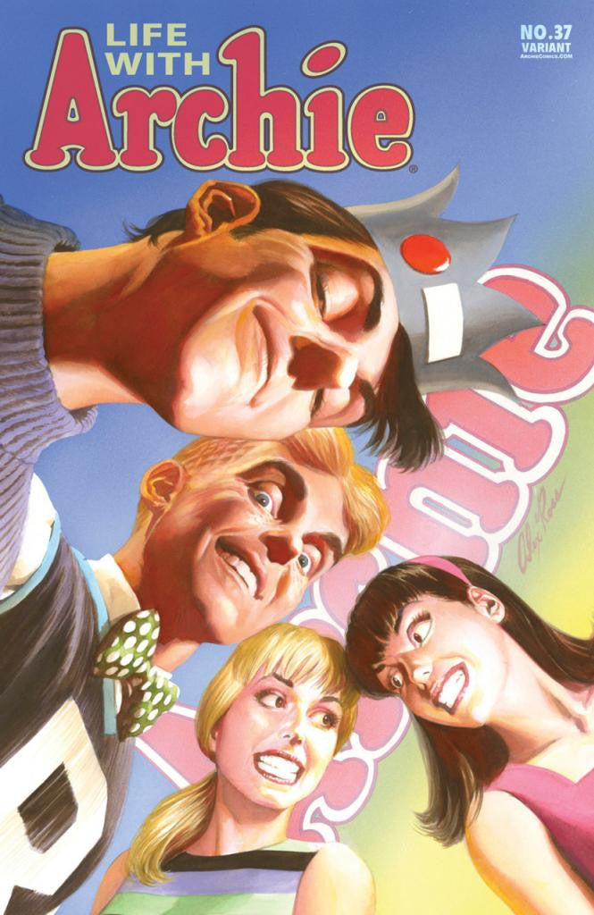 Life With Archie (2010 Series) #37 (Variant Cover - Alex Ross)