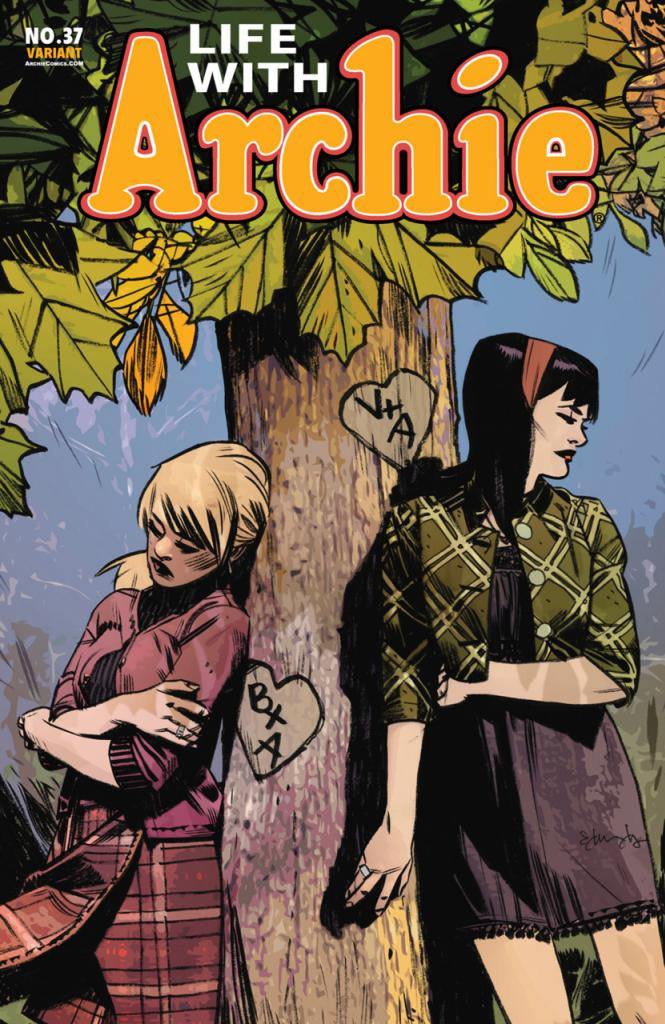 Life With Archie (2010 Series) #37 (Variant Cover - Tommy Lee Edwards)