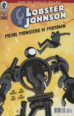 Lobster Johnson (2016 mini-series) #1-3 + Specials [SET] — Volume 05: Metal Monsters of Midtown