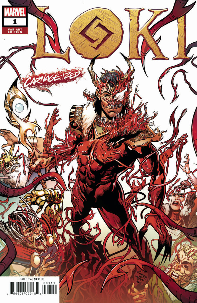 "Loki (2019 mini-series) #1 (of 5) (Variant ""Carnage-ized"" Cover - Will Sliney)"