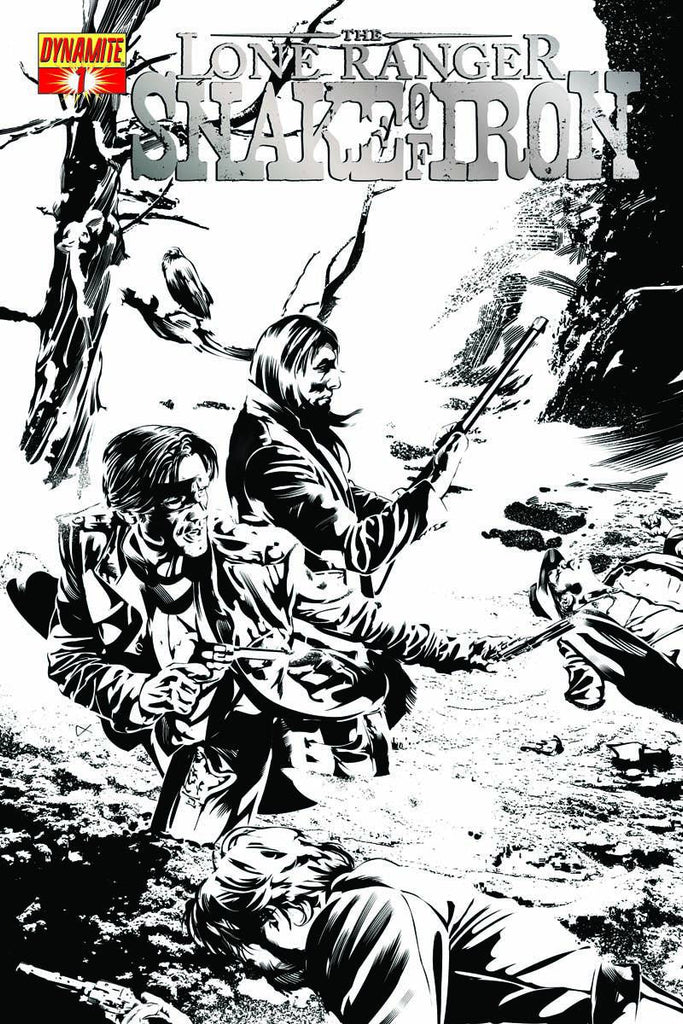 Lone Ranger (2012 mini-series) #1-4 [SET] — The Snake of Iron (All Variant Incentive Covers)