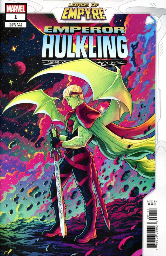 Lords of Empyre; Emperor Hulkling (2020 one-shot) #1 (Variant Incentive Cover - Jen Bartel)