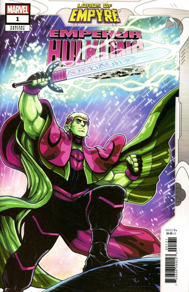 "Lords of Empyre; Emperor Hulkling (2020 one-shot) #1 (Variant ""Artist"" Cover - Luciano Vecchio)"