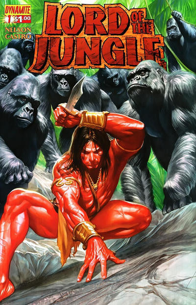 Lord of the Jungle (2011 series) #01-8 + Annual #1 [SET] — Volume 01: The Saga of Greystoke (All Regular Covers)