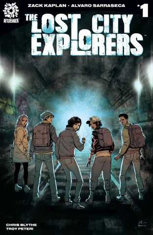 Lost City Explorers (2018 mini-series) #1-5 [SET] — Volume 01: Discovery