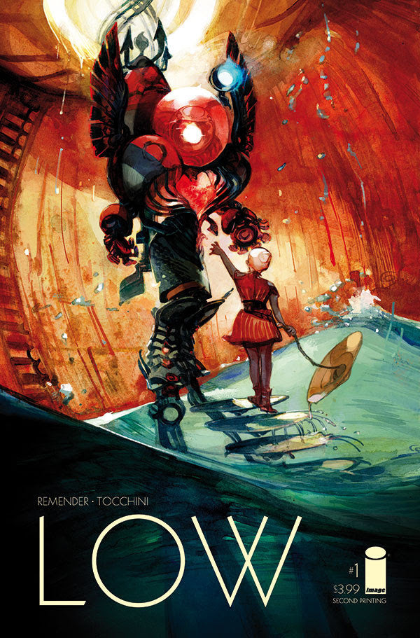 Low (2014 Series) #1 (Variant 2nd Printing Cover - Greg Tocchini)