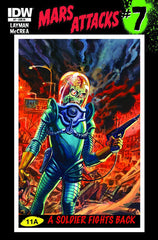 Mars Attacks (2012 series) #06-10 + Classics Obliterated #1 [SET] — Volume 02: On Ice (Variant Incentive Covers)