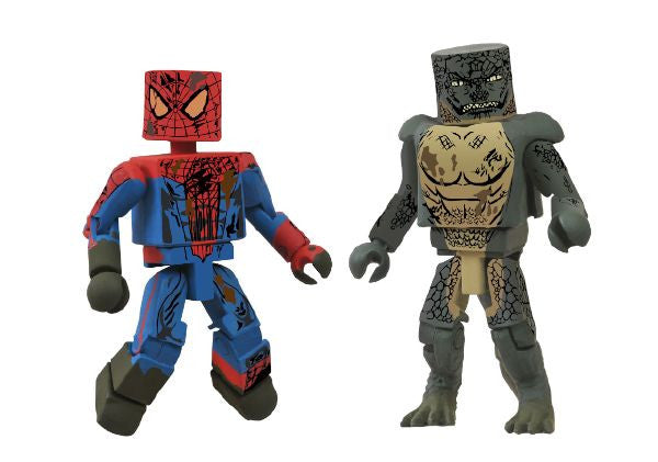 Minimates – Amazing Spider-Man (Movie) Sewer 2-pack (SDCC 2012 Exclusive)