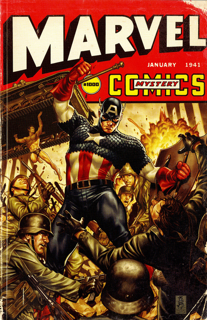 Marvel Comics (2019 mini-series) #1-2 [SET] — The Eternity Mask (Variant Covers 1940's)
