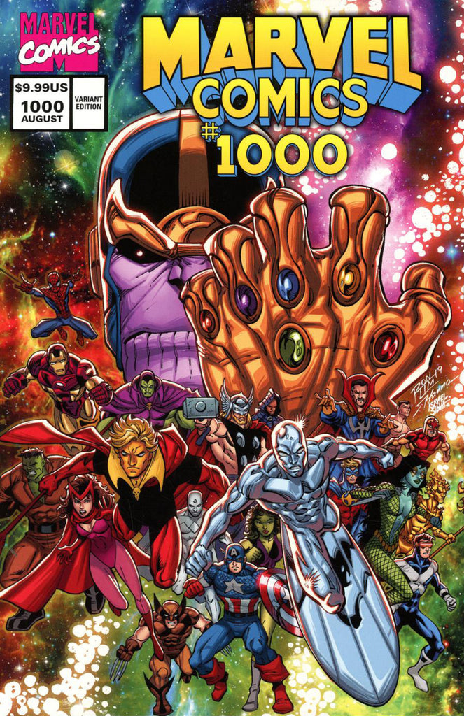 Marvel Comics (2019 mini-series) #1-2 [SET] — The Eternity Mask (Variant Covers 1990's)