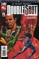Marvel Knights Double-Shot (2001 mini-series) #1-4 [SET] — The Gritty SIde of the Marvel Universe