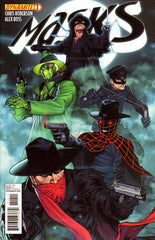 "Masks (2012 mini-series) #1-8 [SET] — Volume 01: The Rise of the Justice Party (All Variant ""C"" Covers)"
