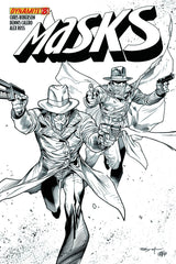 "Masks (2012 mini-series) #1-8 [SET] — Volume 01: The Rise of the Justice Party (All Variant Incentive ""C"" Covers)"