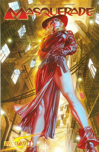 Project Superpowers (2008 mini-series) #1-4 [SET] — Masquerade (All Regular Covers)
