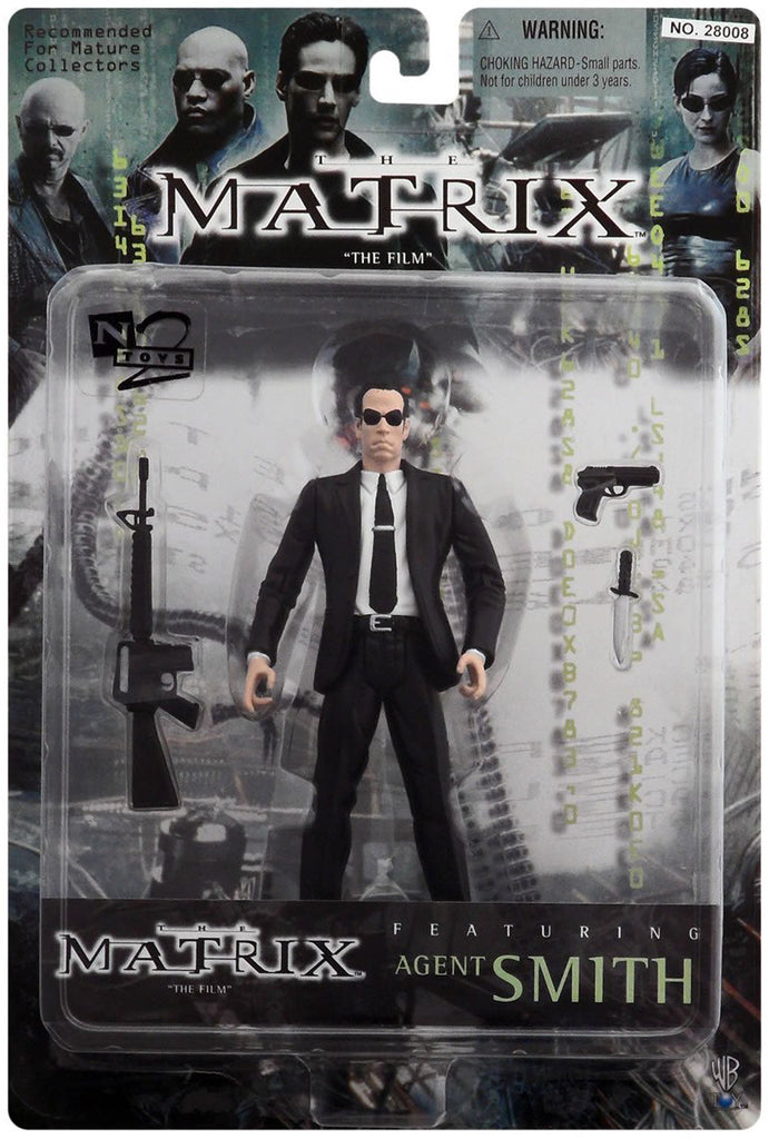 "Matrix (Film) – Series 1 – Agent Smith 6"" Figure"