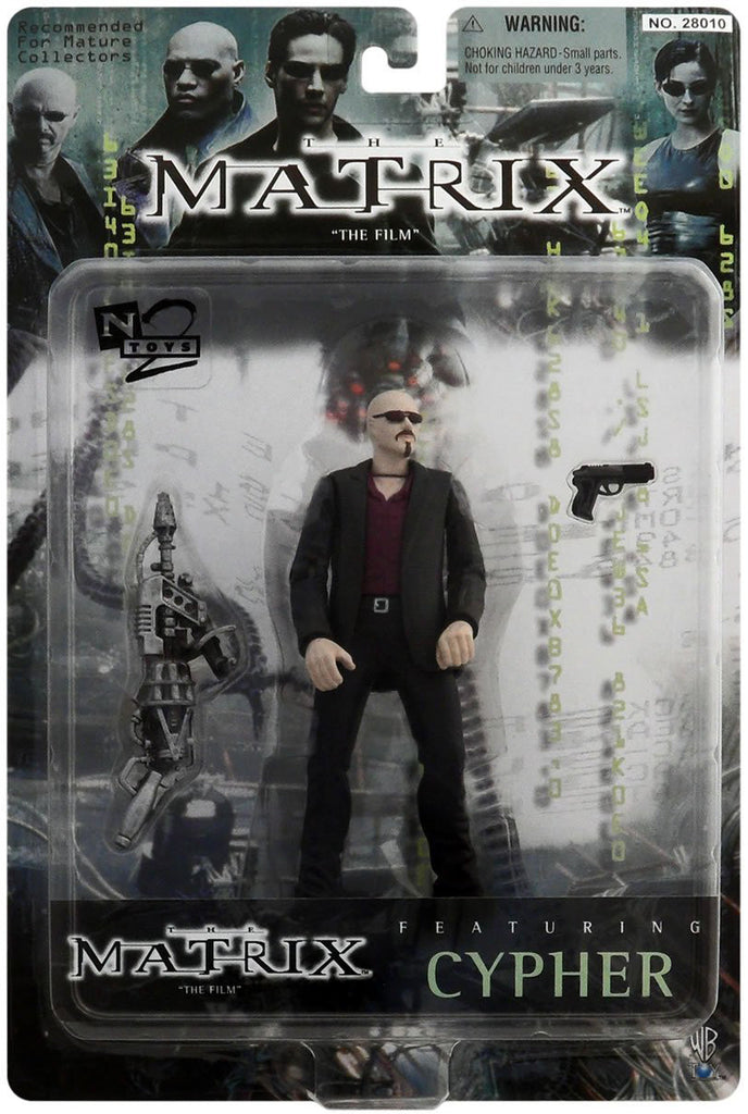 "Matrix (Film) – Series 1 – Cypher 6"" Figure"