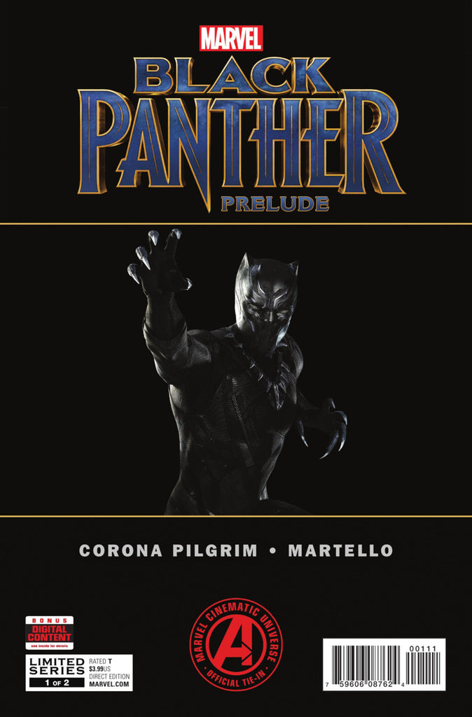 Marvel Cinematic Universe — Black Panther (2017 mini-series) #1-2 [SET] — The Official Movie Prelude
