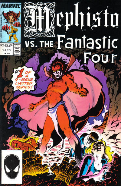 Mephisto vs. (1987 mini-series) #1-4 [SET] — Sympathy for The Devil