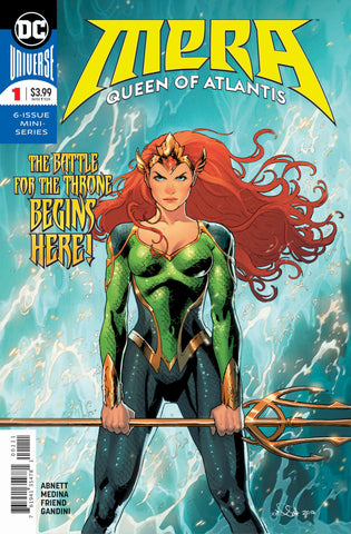Mera (2017 mini-series) #1-8 [SET] — Queen of Atlantis