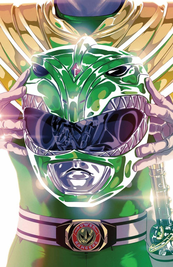 Mighty Morphin Power Rangers (2015 Series) #49 (Variant Foil Cover - Goni Montes)