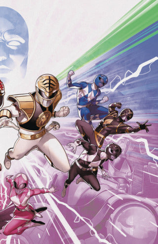 Mighty Morphin Power Rangers (2015 Series) #50 (Variant Foil Cover - Goni Montes)
