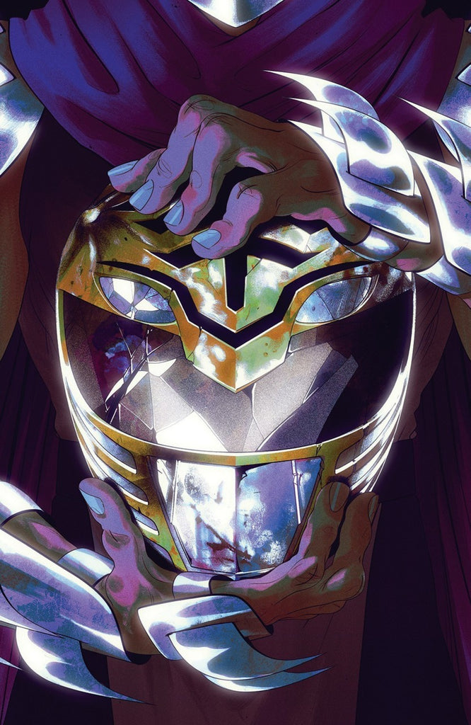 "Mighty Morphin Power Rangers / Teenage Mutant Ninja Turtles (2019 series) #1 (Variant ""Thank You"" Cover - Goni Montes)"